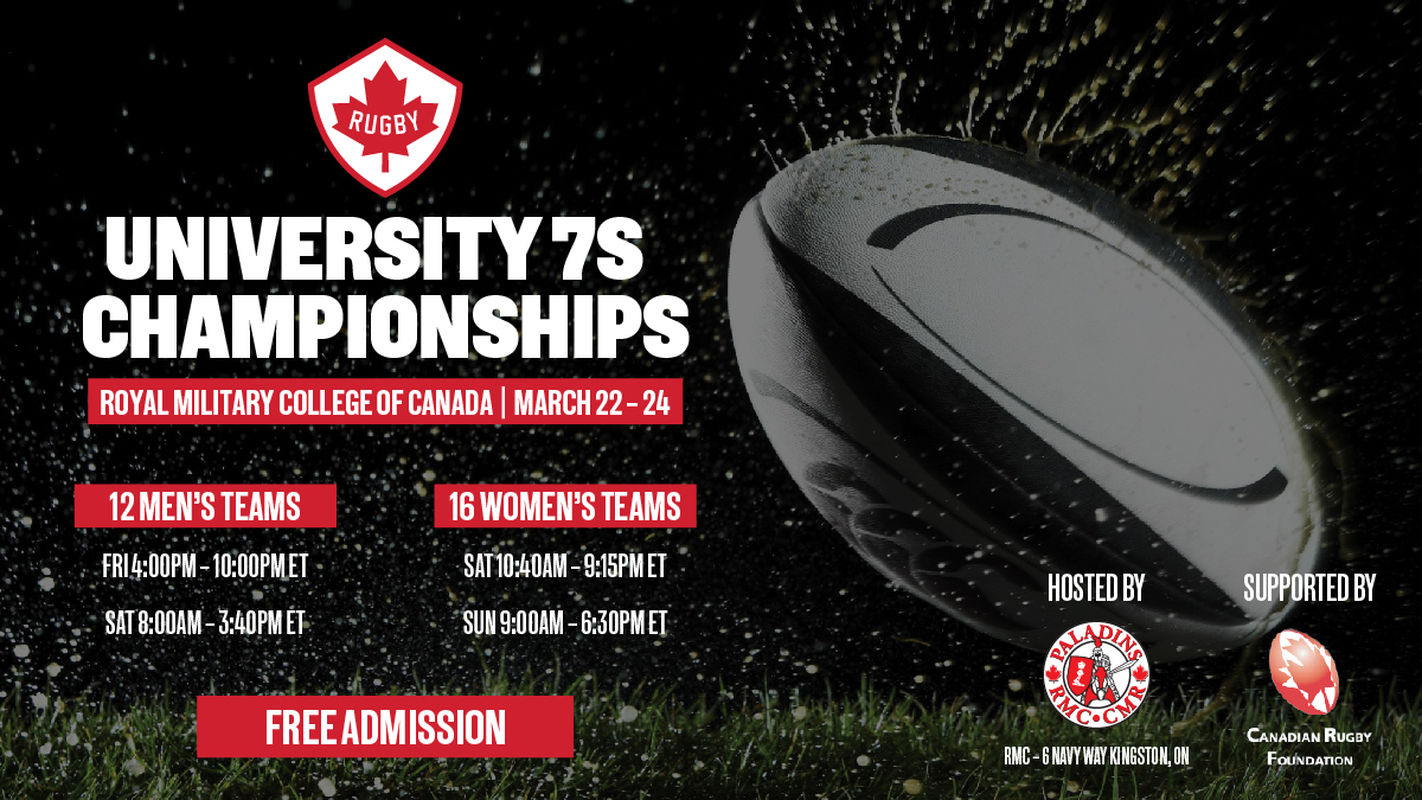 RMC to host Canadian University Rugby Sevens Championships